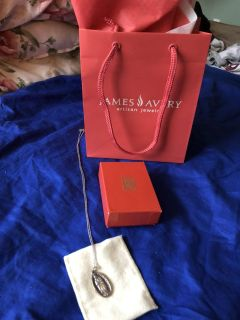 Authentic Brand New never worn James Avery necklace