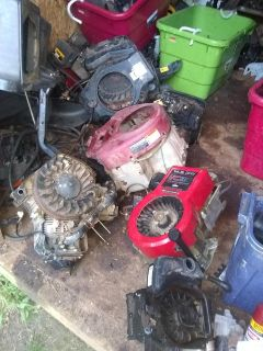 Lawn mower engines for sale from three and a half horse to 30 horse Briggs & Stratton Kohler and Kawasaki