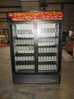 True 2 Door Beverage Merchandiser RTR# 8033602-01