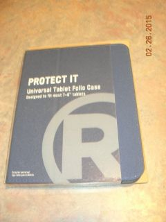 Radio Shack tablet case slim universal case 7-8""
