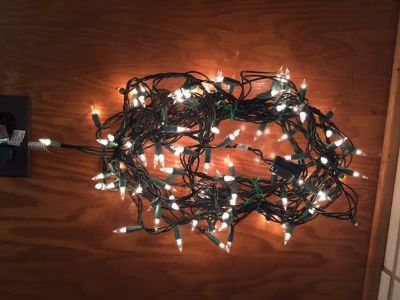 White Christmas Lights - 3 sets available
