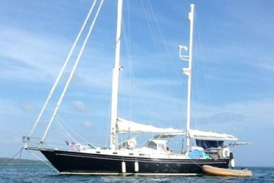 1980 Whitby Brewer 42 Twin Headsail Ketch