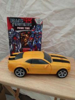 Transformers book with Bumble Bee