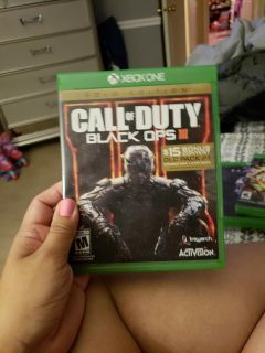 Cal of duty black ops 3 xbox one
