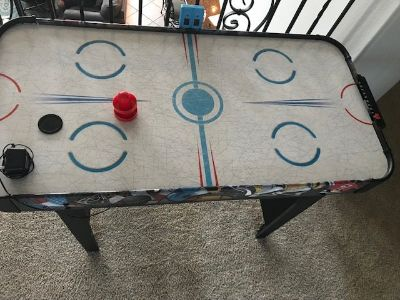 Kids Electronic Air Hockey Table