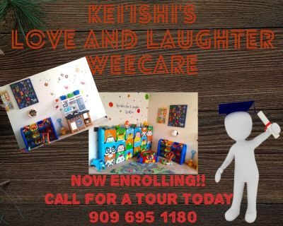 NEW HOME DAYCARE NOW ENROLLING!!!