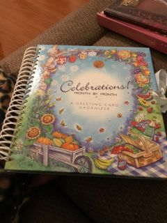 CELEBRATIONS! GREETING CARD MONTHLY ORGANIZER