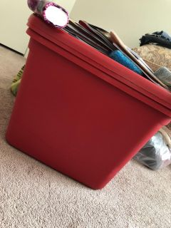 2 Red Totes