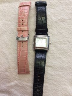 Anne Klein Genuine Leather Watch