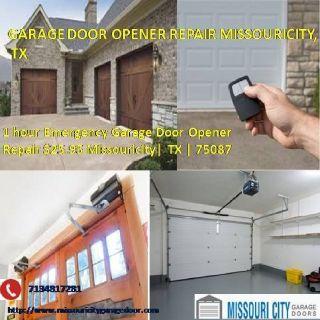 Expert Garage Door Opener Repair Services $25.95 77459 Missouricity TX