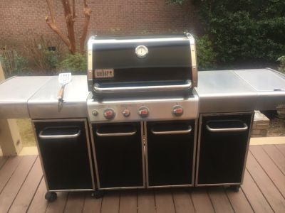 Weber Genesis Special Edition Natural Gas grill with side burner