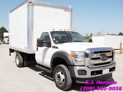 2013 Ford F-450 Super Duty 12ft Insulated & Heated Cube Van