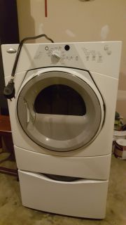 Whirpool Sport Dryer with Pedestal