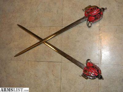 For Sale/Trade: 2 Scottish basket hilt swords