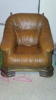 One seater living room couch
