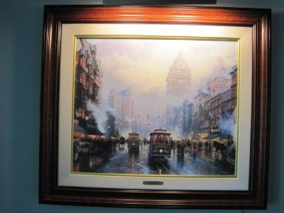 1994 Thomas Kinkade signed and numbered canvas lithograph