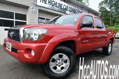 2011 Toyota Tacoma V6 (Barcelona Red Metallic)