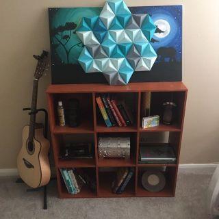 Storage cube wood