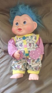 Applause Troll Baby Doll With Baby Suit