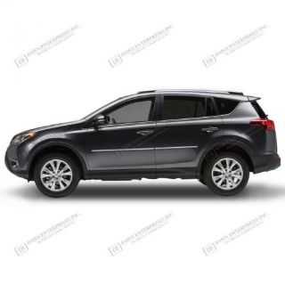 Purchase For: TOYOTA RAV4; BODY SIDE Moldings Mouldings CHROME ABS 2013-2017 motorcycle in Cleveland, Ohio, United States, for US $129.20