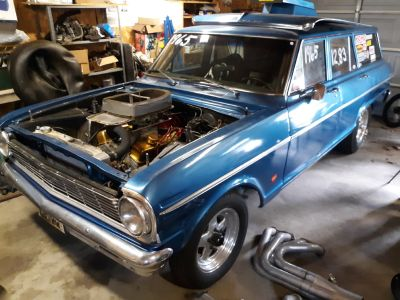 1965 Chevy II wagon Drag Car