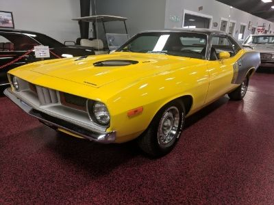 1973 Plymouth Barracuda 440 2 door (Yellow)