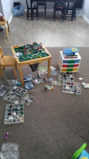 That price is for the Legos the Lego table and the Lego storage