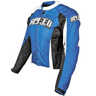 Purchase Speed & Strength Throttle Body Textile Jacket Blue motorcycle in Holland, Michigan, US, for US $161.95
