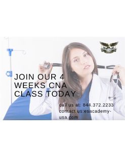 Flexible morning and night Certified Nursing Assistant classes!