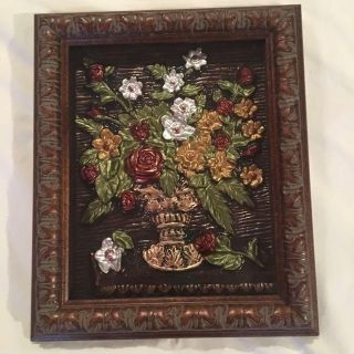 Picture of metal flowers H 13 x W 10 3/4