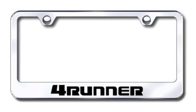 Sell Toyota 4Runner Engraved Chrome License Plate Frame -Metal Made in USA Genuine motorcycle in San Tan Valley, Arizona, US, for US $30.98
