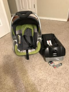Car seat and 2 bases