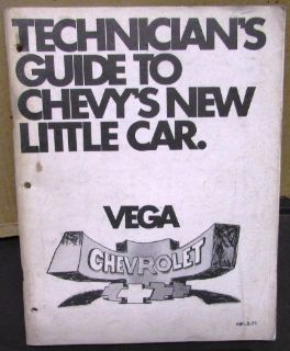 Find Original 1971 Chevrolet Service Shop Manual Vega 2300 New Product Training motorcycle in Holts Summit, Missouri, United States, for US $19.71