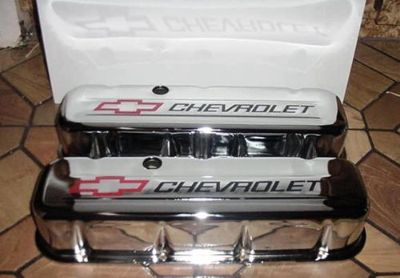 Sell VALVE COVER SET BIG BLOCK CHEVY TRIPLE CHROME PLATED STEEL TALL CHEVROLET NEW ! motorcycle in Brooksville, Florida, United States