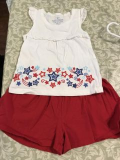 Faded glory size 4 outfit