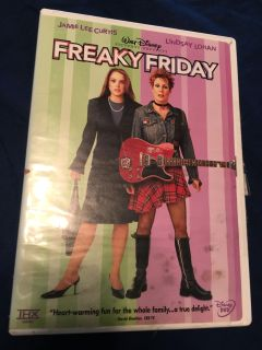 Freaky Friday dvd. Disk looks in excellent shape.