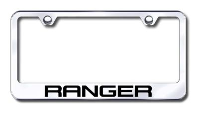 Purchase Ford Ranger Engraved Chrome License Plate Frame -Metal Made in USA Genuine motorcycle in San Tan Valley, Arizona, US, for US $30.98