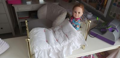 Doll bed (American girl) & My Generation doll