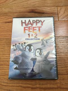 Happy Feet 1 & 2 DVD. Brand New & Sealed, Comes with Case.