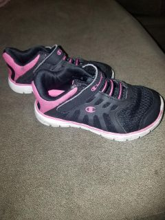 Champion Black and Pink Tennis Shoes