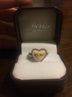 Xoxo Heart Ring