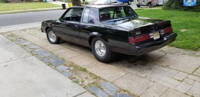 1987 Buick grand national ,pro street.