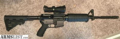 For Sale: AR-15 with optics
