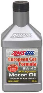 Amsoil Honda BMW Import & European Synthetic 5W-40 Motor Oil