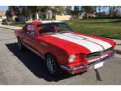 1965 Ford Mustang GT 350 Shelby Red