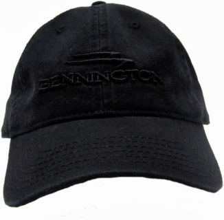 Buy Otto Black Vintage Classic Soild Cap with Embroidered Bennington Pontoon Logo motorcycle in Millsboro, Delaware, United States, for US $22.95