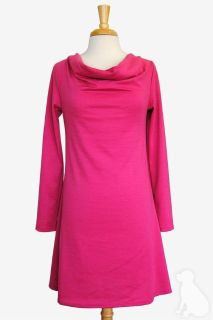 Haley and the hound pink cowl neck dress retails $89 size xl