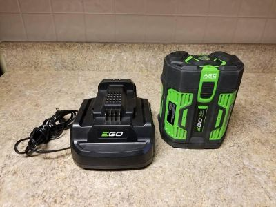 EGO Power BA4200 56 Volt 7.5 ah Lithium Battery plus Charger sale or trade