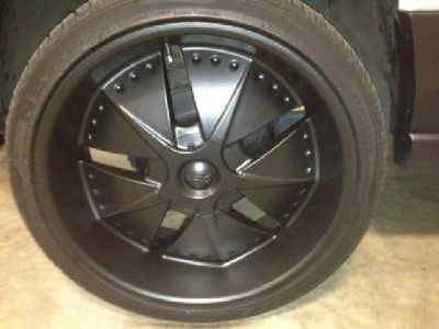 $850 22 Inch Rims and Tires. 5 Lug Pattern