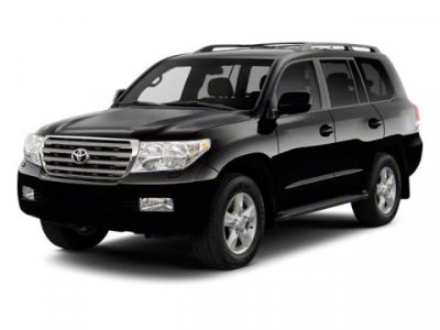 2010 Toyota Land Cruiser Base (Black)